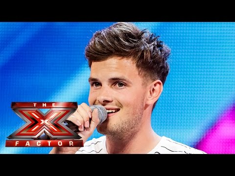Tom Mann sings Backstreet Boys I Want It That Way  Arena Auditions Wk 2 The X Factor UK 2014