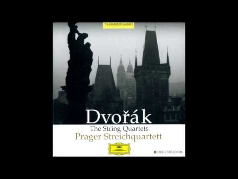 A. Dvořák String Quartet No.1 in A major Op.2 B 8*, Prager Quartet