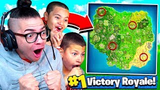Fortnite But JAYDEN *CONTROLS* The Way KAYLEN PLAYS it!!! (HARDEST CHALLENGE EVER?) Battle Royale
