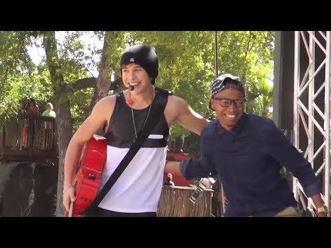 Austin Mahone Pranks DJ Rayvon