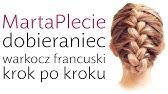 Fryzury Pazury Ukośny Warkocz Francuski Youtube
