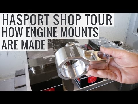 Improving Honda Engine Mounts For Better Performance - Hasport Shop Tour