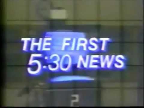 WJAC 5:30 News Extra Open 1987