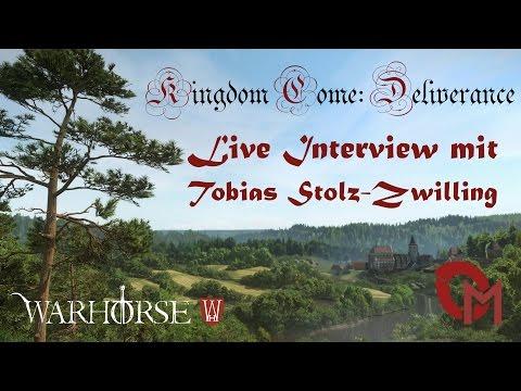 LIVE INTERVIEW mit WARHORSE STUDIOS [Kingdom Come: Deliverance]