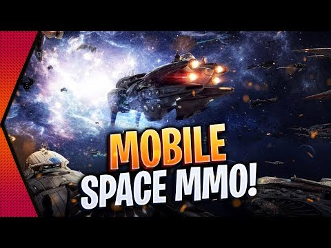 Second Galaxy - OPEN-WORLD SPACE MMO EVE ONLINE MOBILE COMPETITOR FOR ANDROID & IOS! | MGQ Ep. 393