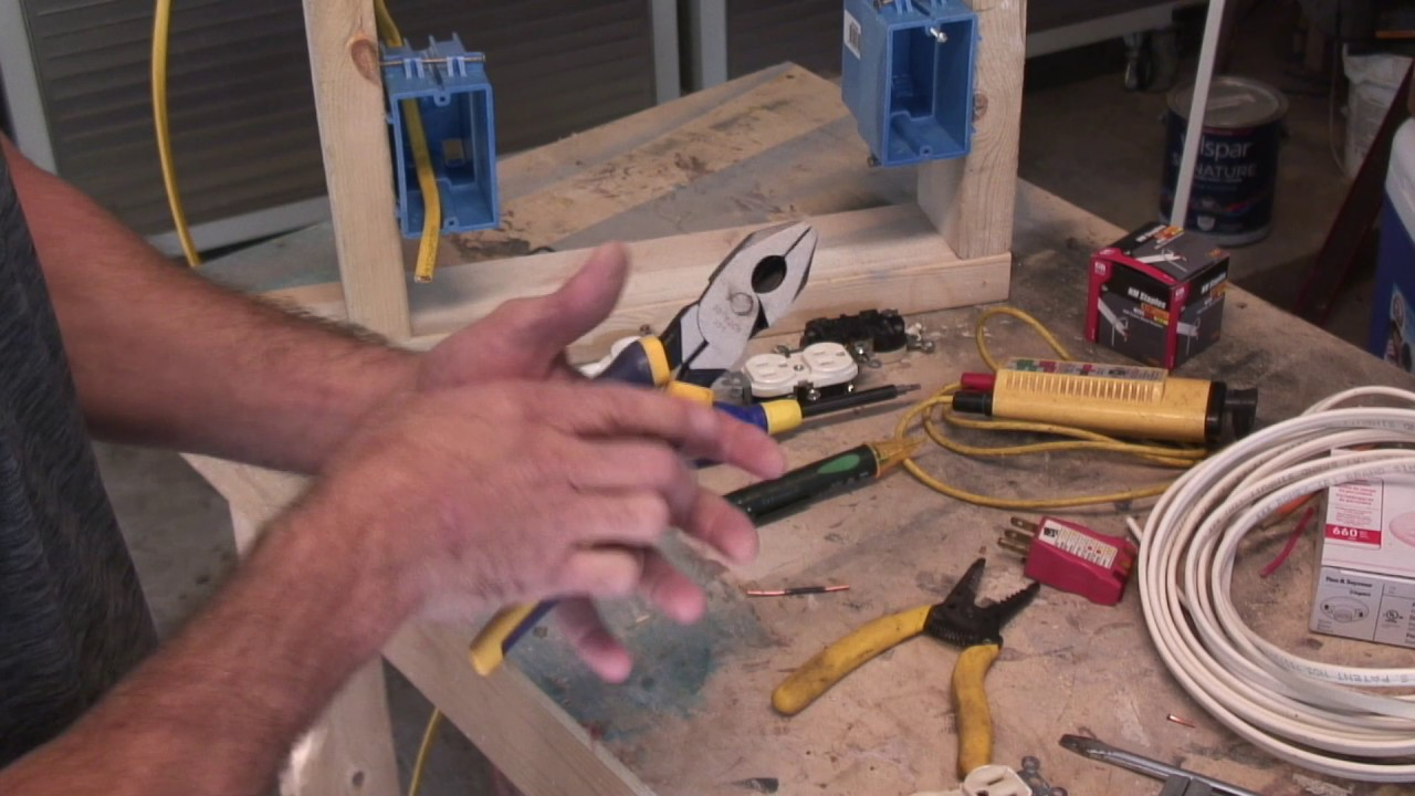 Diy Basic Residential Electricity 1 Youtube Electrical Wiring