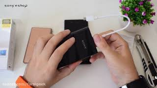 Sony PowerBank CP-V9 Unboxing