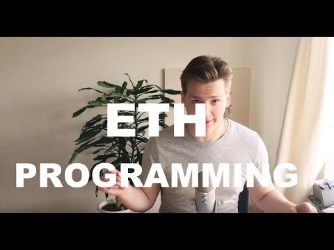 Writing Ethereum smart contracts - Ethereum Solidity Tutorial 1 - Creating own coin