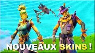 THE PROCHAINS SKINS HALLOWEEN ON FORTNITE BATTLE ROYALE!