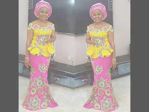 2018 MODERN AFRICAN DRESS STYLES FOR WOMEN
