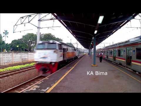 Kereta Api Ngebut (High Speed) 9 Juli 2017