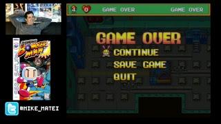 Saturn Bomberman (Sega Saturn) Part 2 - Cinemassacre Plays