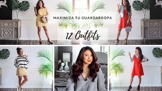 MAXIMIZA TU GUARDARROPA | 12 IDEAS DE OUTFITS PARA PRIMAVERA 2018 | WOMEN'S DAY | JORYCK