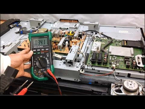 Power Supply Board Replacement: Dead LCD TV That Won't Turn On No Power No LED Light - Sony Bravia