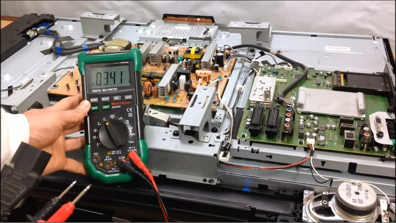 How To Repair A Tv That Wont Turn On Replace Power Protection Circuit Board With Delay 12s 12v Dc Supply Ebay Sony Kdl40v4000