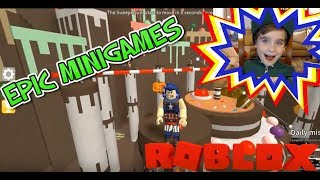 KC Plays EPIC MINIGAMES on ROBLOX with New Mini Games!!! Twitter Code below!!