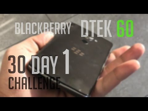 Blackberry Dtek 60 - 30 Day Challenge Unboxing and First Impressions