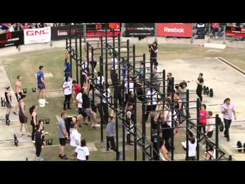 2011 Reebok Crossfit Games Australia - Teams wrap up