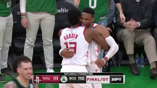 Boston Celtics vs Houston Rockets | February 29, 2020