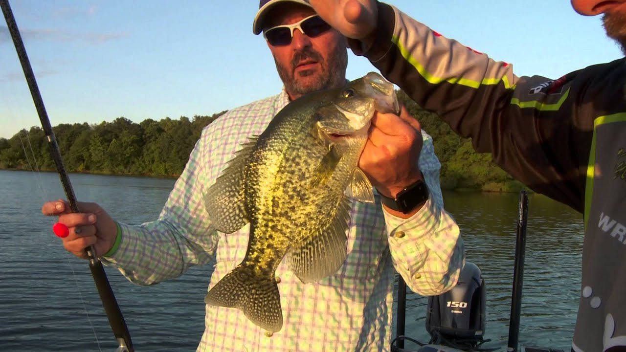 Midwest outdoors tv show 1566 crappie on kinkaid lake for Midwest fishing report