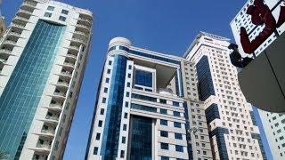 Пробки в Эмиратах. Из окна 13 этажа отеля Sharjah Palace Hotel 4*. Интересные факты