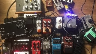 A day in front of the pedalboard - Vlog #149 Apr 27th 2017