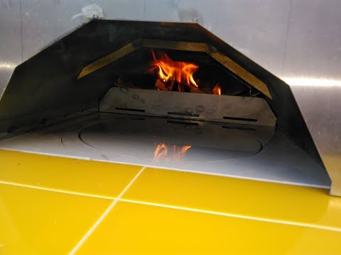 Rotating Pizza Oven Garden Wood Fired Cooking