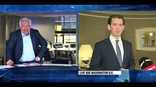 Fellner! Live: Kanzler Kurz über sein Treffen mit Trump