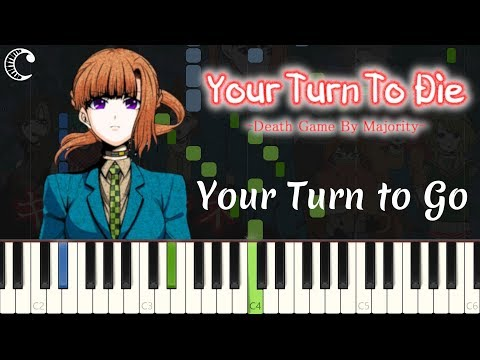 Your Turn to Go from Your Turn to Die | Piano Cover (Synthesia)