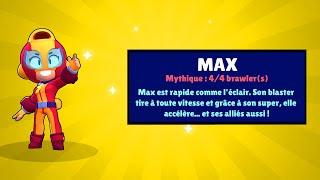 MAELYS ACHETE TOUS LES SKINS + MEGA PACK OPENING BRAWL STARS MAX & EMERI !!!