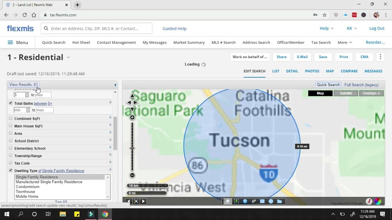 Tucson Real Estate Market 12-16-19