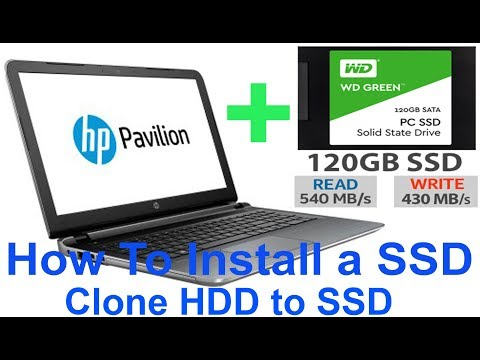 How To Clone Your HDD to SDD on a Laptop (HP Pavilion 15-ab032TX)