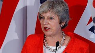 Theresa May rattled in Salzburg
