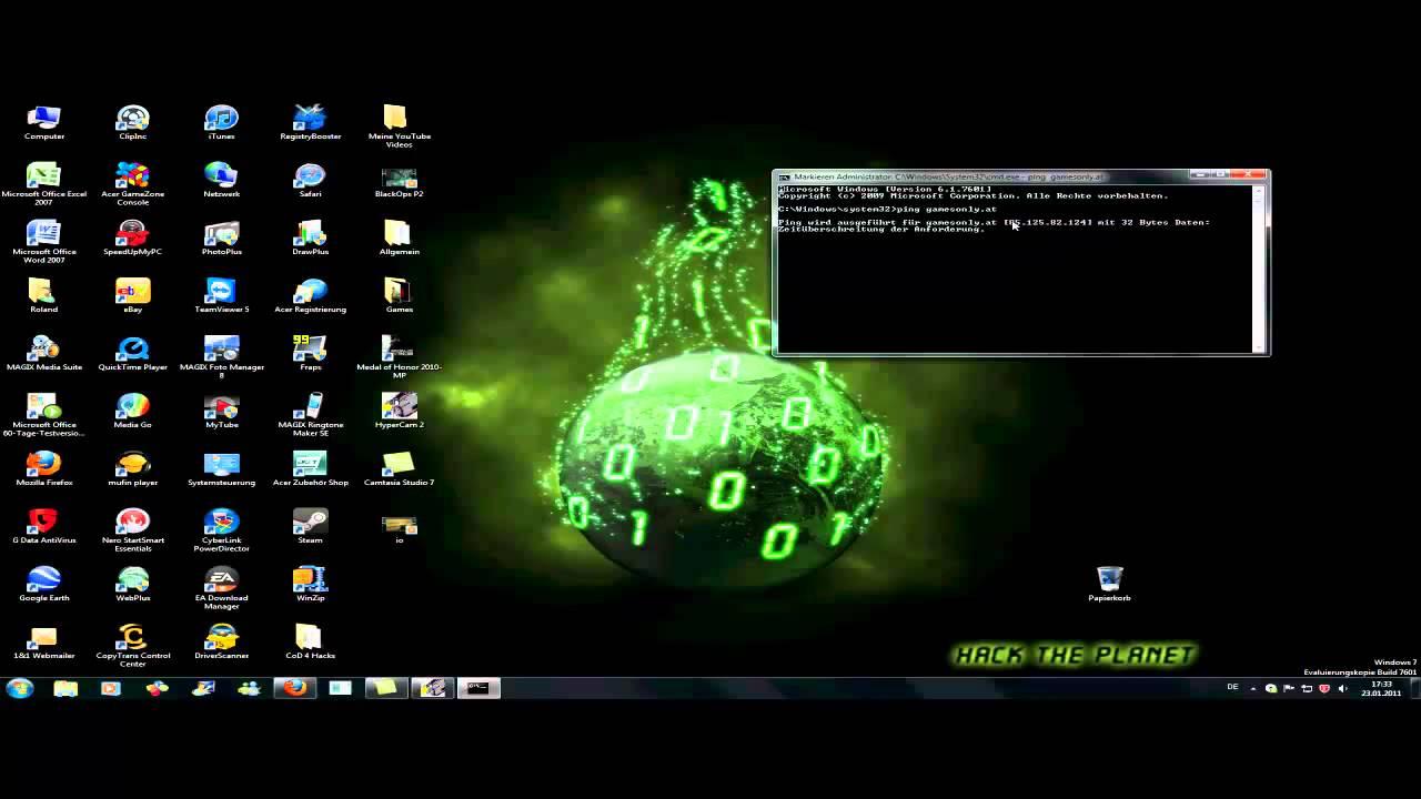 Die IP-Adresse einer Website herausfinden mit CMD [720p HD