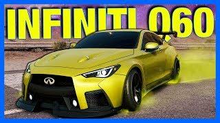 Need for Speed Payback : NEW WIDEBODY INFINITI CUSTOMIZATION!! (Speedcross DLC)