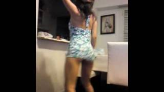 young girl dancing house party buenos aires argentina ass
