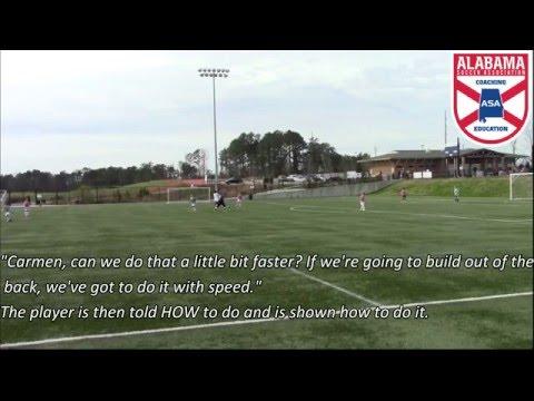 Alabama Soccer Association- USSF E License- Warm-Up
