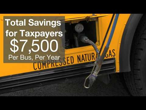 Jordan School District Finds Big Savings with CNG Buses