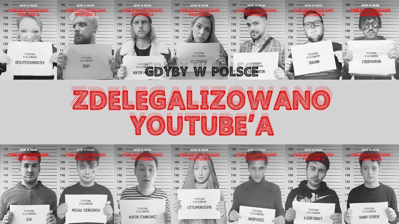 Gdyby w Polsce zdelegalizowano YouTube…