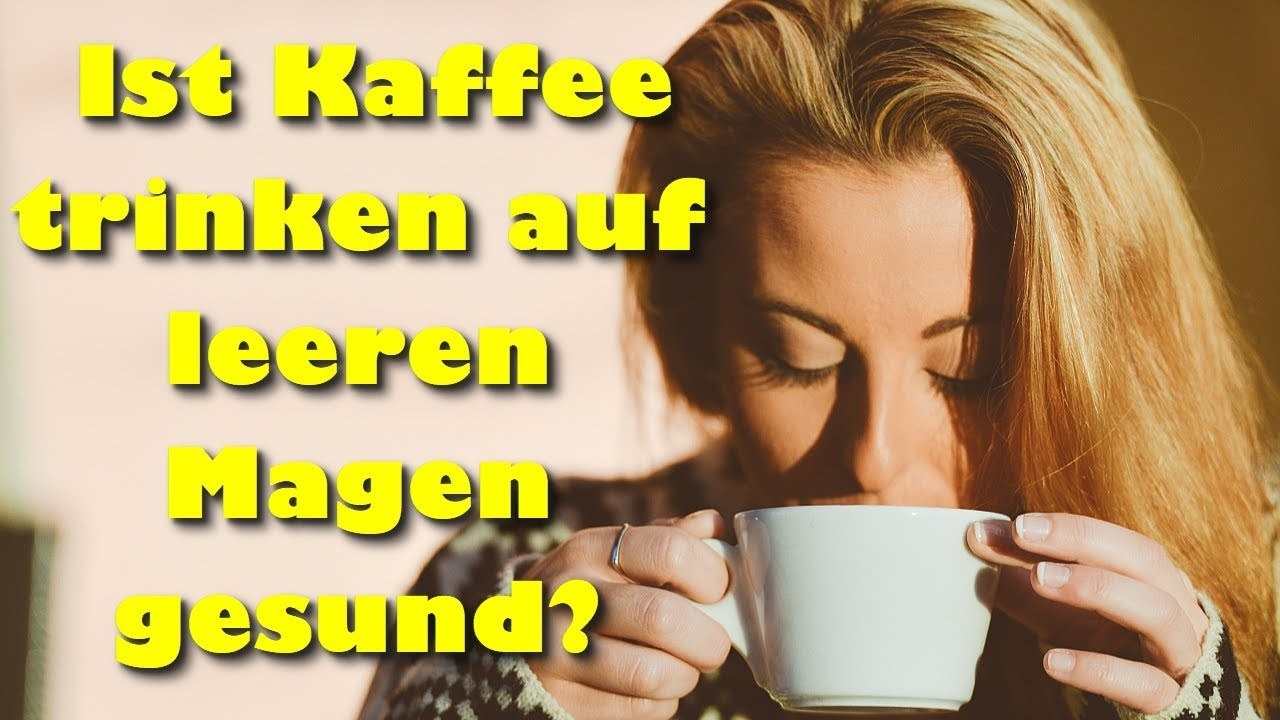 Kaffee Auf Leeren Magen