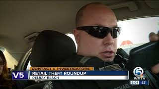 Undercover shoplifting sting fights off retail theft in Delray Beach