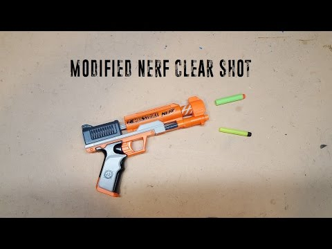 Modified Nerf Clear Shot