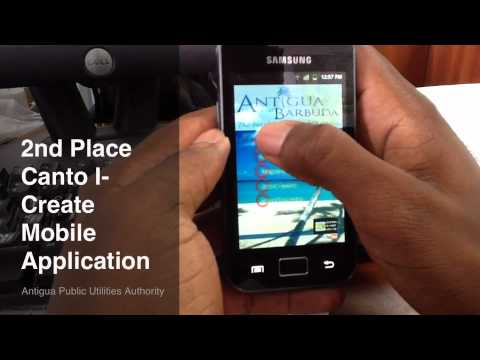 2nd Place Winning Mobile Application by Antigua Public Utilities Authority