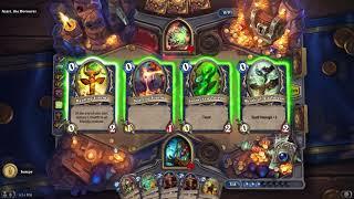 Hearthstone Dungeon Run - Shaman vs Azari, the Devourer #2