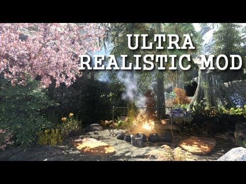 Skyrim - ENB Ultra Realistic Mod - 70+Mods - GTX 770 - Max Settings