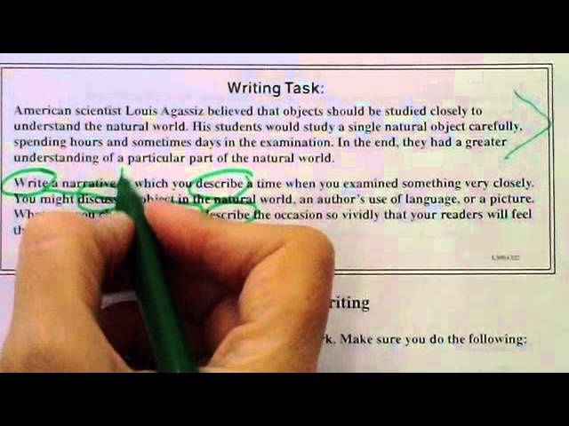 tips for writing the cahsee essay