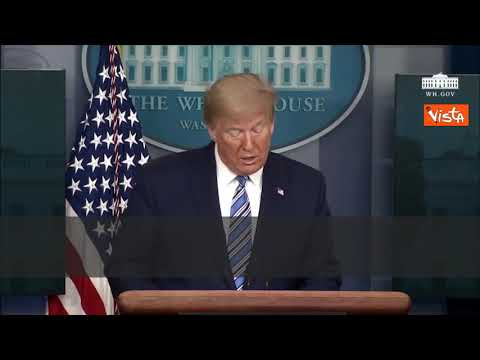 """Covid-19: Donald Trump in guerra contro il """"virus straniero"""""""