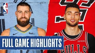 GRIZZLIES at BULLS | FULL GAME HIGHLIGHTS | December 4, 2019