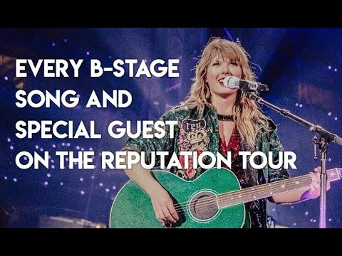 All Surprise Songs On The Reputation Tour//Taylor Swift