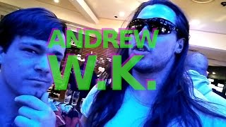 ANDREW W.K. INTERVIEW!